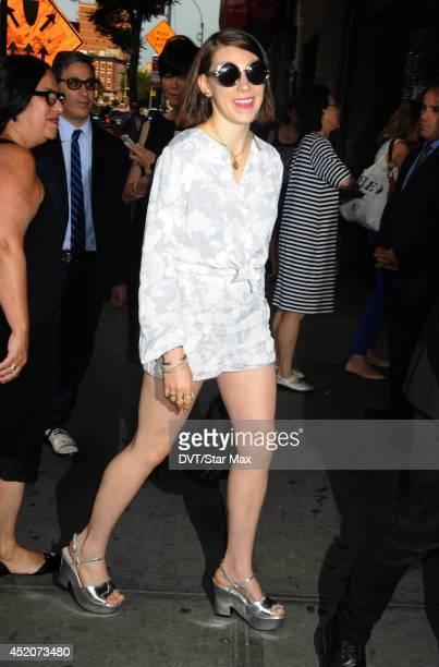 Actress Zosia Mamet is seen on July 10 2014 in New York City