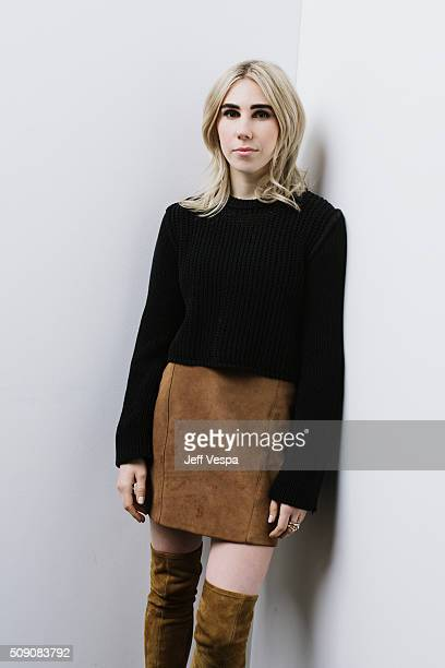 Actress Zosia Mamet of 'WienerDog' poses for a portrait at the 2016 Sundance Film Festival on January 22 2016 in Park City Utah