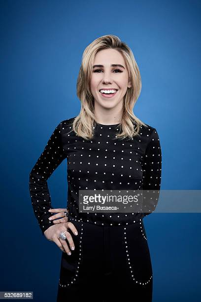 Actress Zosia Mamet poses for a portrait at the Tribeca Film Festival on April 15, 2016 in New York City.