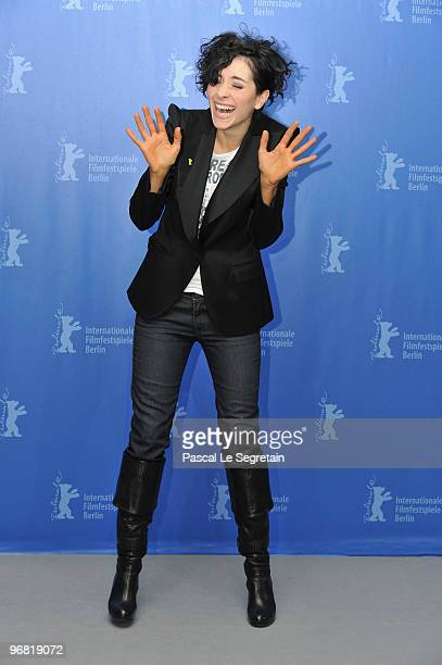 Actress Zrinka Cvitesic attends the 'Na Putu' Photocall during day eight of the 60th Berlin International Film Festival at the Grand Hyatt Hotel on...