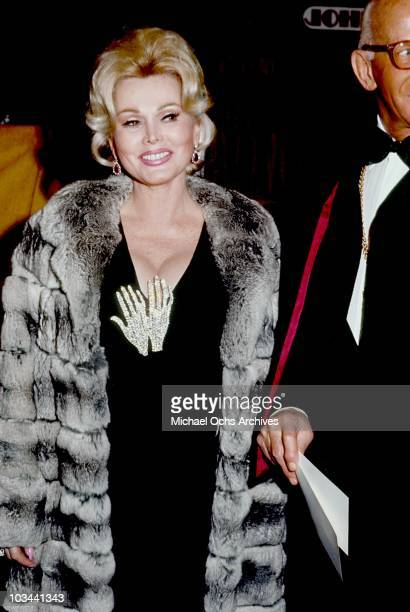 Actress Zsa Zsa Gabor attends an event circa 1970 in Los Angeles California