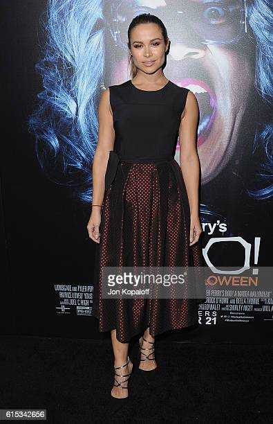 Actress Zulay Henao arrives at the Los Angeles Premiere Boo A Madea Halloween at ArcLight Cinemas Cinerama Dome on October 17 2016 in Hollywood...