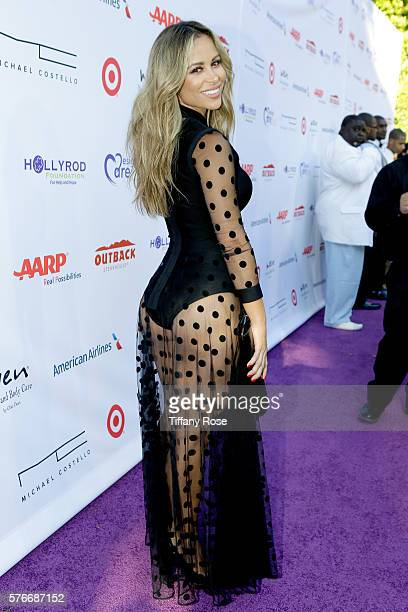 Actress Zulay Henao attends HollyRod Foundation's DesignCare Gala on July 16 2016 in Pacific Palisades California