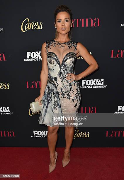 Actress Zulay Henao attends LATINA Magazine's Hollywood Hot List party at the Sunset Tower Hotel on October 2 2014 in West Hollywood California
