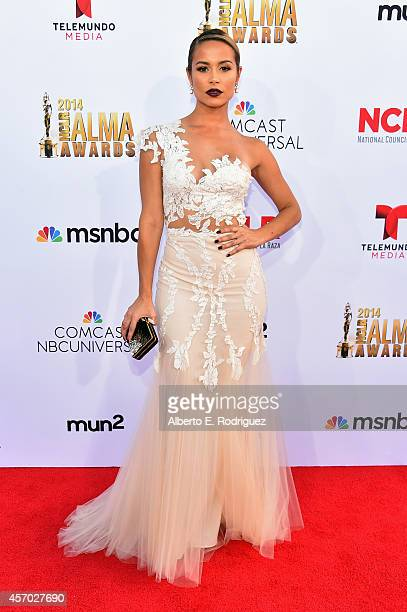 Actress Zulay Henao attends the 2014 NCLR ALMA Awards at the Pasadena Civic Auditorium on October 10 2014 in Pasadena California