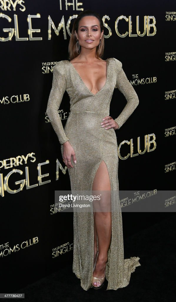Actress Zulay Henao attends the premiere of Tyler Perry's 'The Single Moms Club' at the ArcLight Cinemas Cinerama Dome on March 10, 2014 in Hollywood, California.
