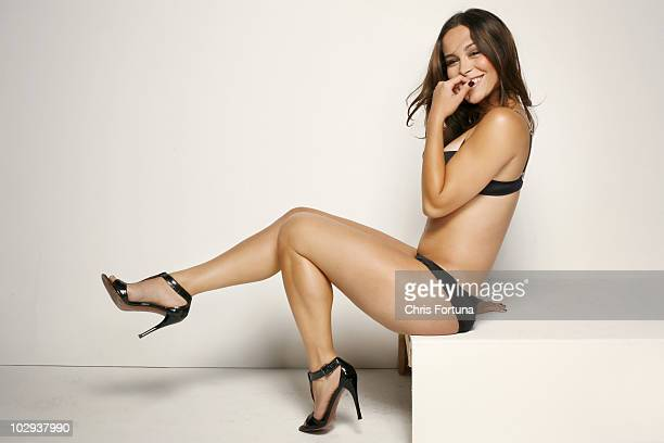 Actress Zulay Henao poses at a portrait session for Maxim in Los Angeles CA on March 17 2009 Published Image PUBLISHED IMAGE NO SALES TO GQ ESQUIRE...