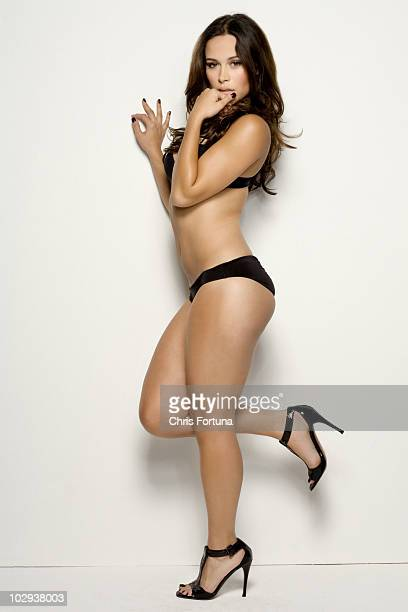 Actress Zulay Henao poses at a portrait session for Maxim in Los Angeles CA on March 17 2009 PUBLISHED IMAGE NO SALES TO GQ ESQUIRE FHM DETAILS...