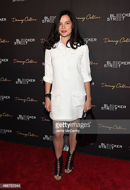 Actress Zuleikha Robinson attends the Danny Collins New York premiere at AMC Lincoln Square Theater on March 18 2015 in New York City