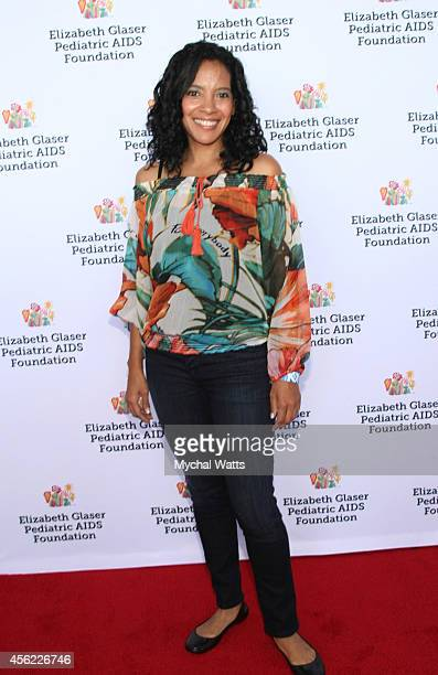 Actress Zybryna Guevera attend Elizabeth Glaser Pediatric AIDS Foundation's Kids 4 Kid Family Festival at Chelsea Piers Field House on September 27...