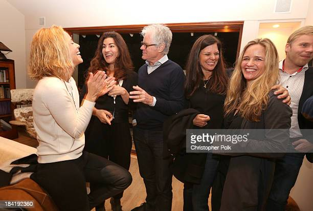 Actress/activist Maria Bello filmmaker Jehane Noujaim philanthopist Kevin Wall Dr Susan Smalley and social impact investor Clare Munn attend the...