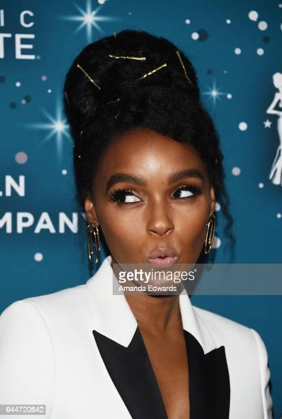 Actressand singer Janelle Monae arrives at the Essence 10th Annual Black Women in Hollywood Awards Gala at the Beverly Wilshire Four Seasons Hotel on...