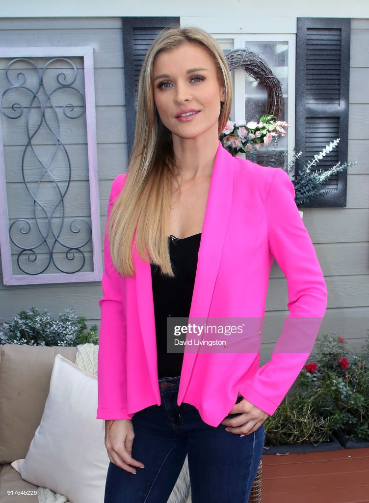 Actress/animal rights activist Joanna Krupa visits at Universal Studios Hollywood on February 12, 2018 in Universal City, California.