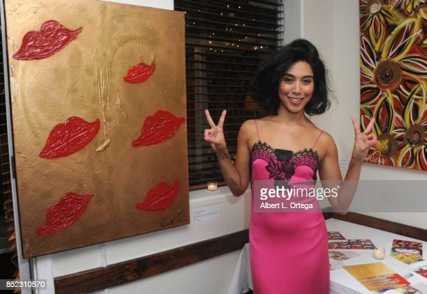 Actress/artist Vanessa E Garcia's Art Show with partial proceeds going to House of Ruth based in East Los Angeles that benefits victims of Domestic...