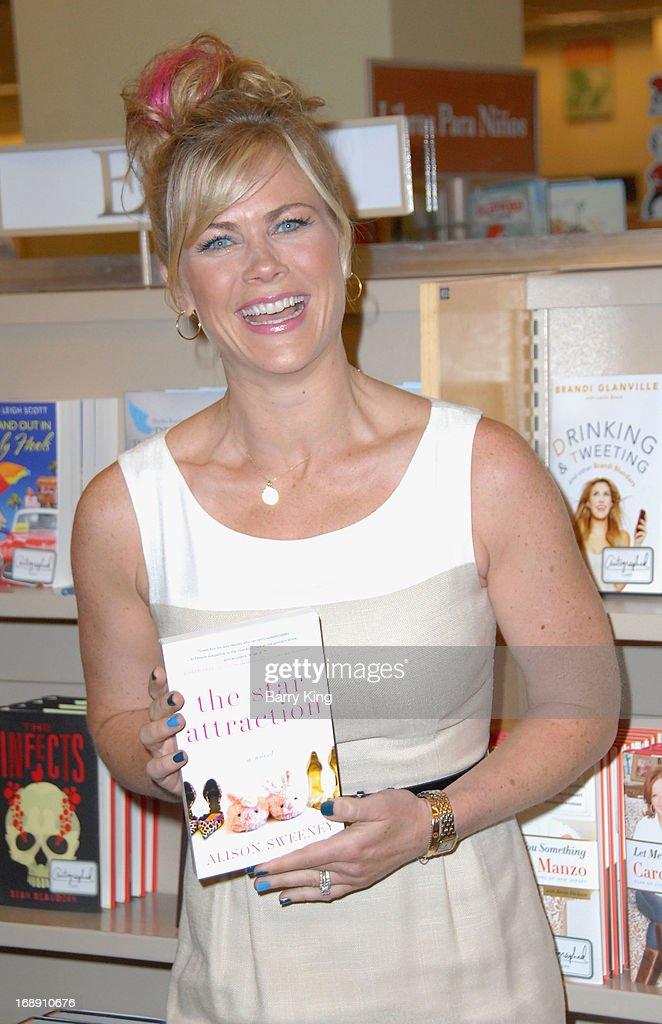 Actress/author Alison Sweeney signs copies of her New Book ...