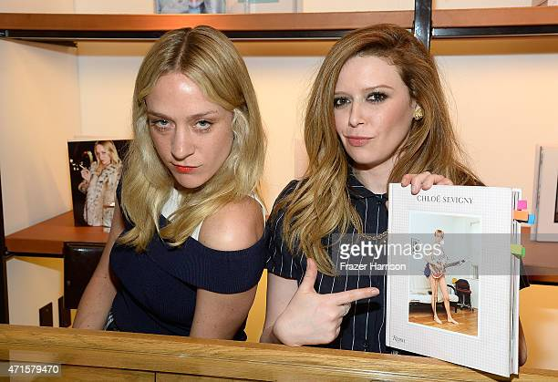 Actress/Author Chloe Sevigny and actress Natasha Lyonne attend at BookMarc Celebrates Chloe Sevigny's New Book Chloe Sevigny By Rizzoli at BookMarc...