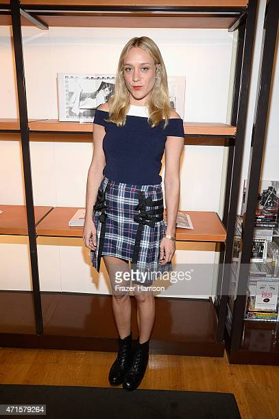 Actress/Author Chloe Sevigny attends BookMarc Celebrates Chloe Sevigny's New Book 'Chloe Sevigny' By Rizzoli at BookMarc on April 29 2015 in Los...