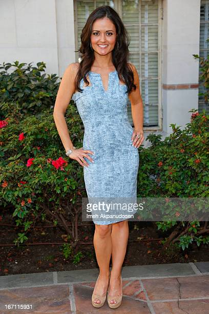 Actress/author Danica McKellar attends the 18th Annual LA Times Festival Of Books at USC on April 20 2013 in Los Angeles California