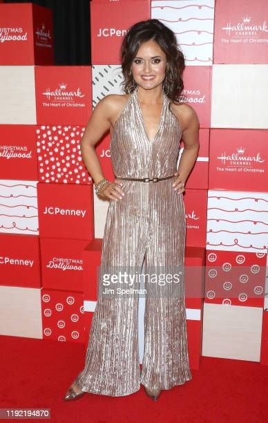 Actress/author Danica McKellar attends the New York screening of Hallmark Channel's Christmas At Dollywood at Village East Cinema on December 05 2019...