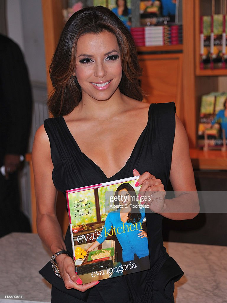 Eva Longoria Book Signing For