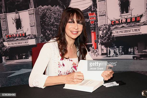 Actress/author Illeana Douglas attends Illeana Douglas book signing during day 2 of the TCM Classic Film Festival 2016 on April 29 2016 in Los...
