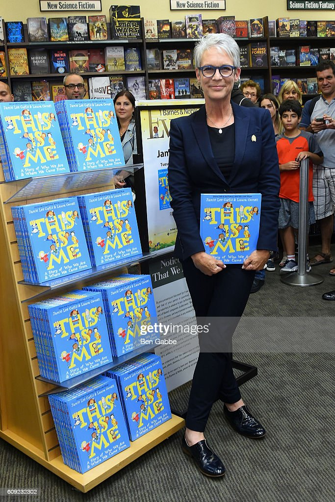 """Jamie Lee Curtis Signs Copies Of Her New Book """"This Is Me: A Story of Who We Are and Where We Came From"""" : News Photo"""