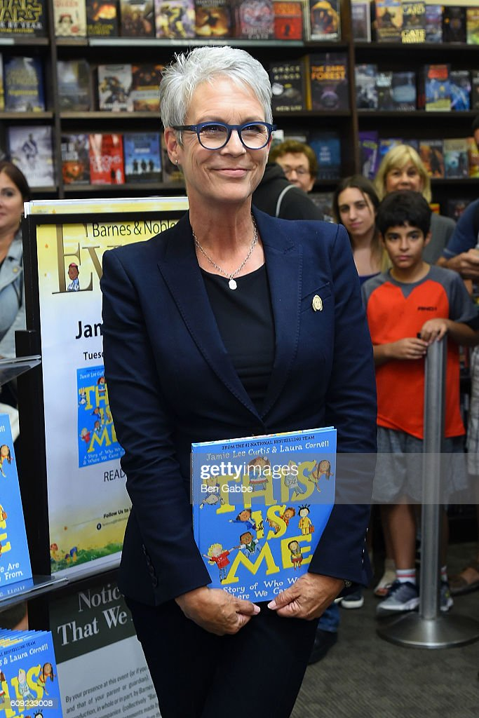 "Jamie Lee Curtis Signs Copies Of Her New Book ""This Is Me: A Story of Who We Are and Where We Came From"" : News Photo"
