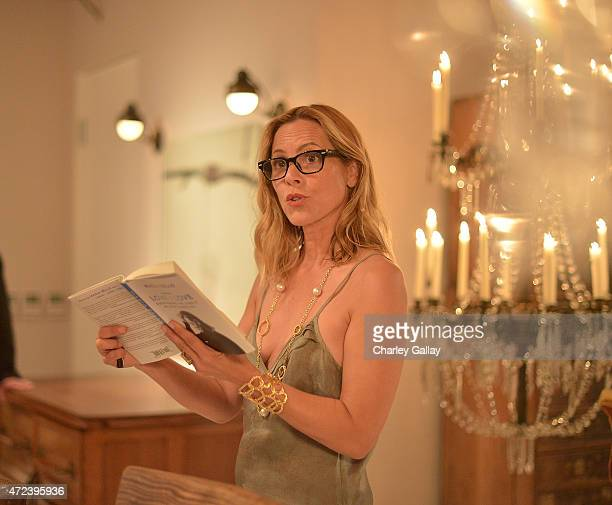 Actressauthor Maria Bello attends the party for her book WhateverLove is Love at Obsolete on May 6 2015 in Culver City California