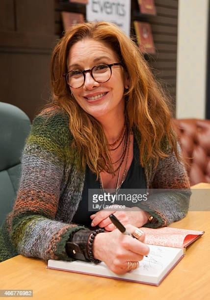 "Actress/Author Melissa Gilbert signs copies of her book ""My Prairie Cookbook"" at Barnes & Noble bookstore at The Grove on March 18, 2015 in Los..."
