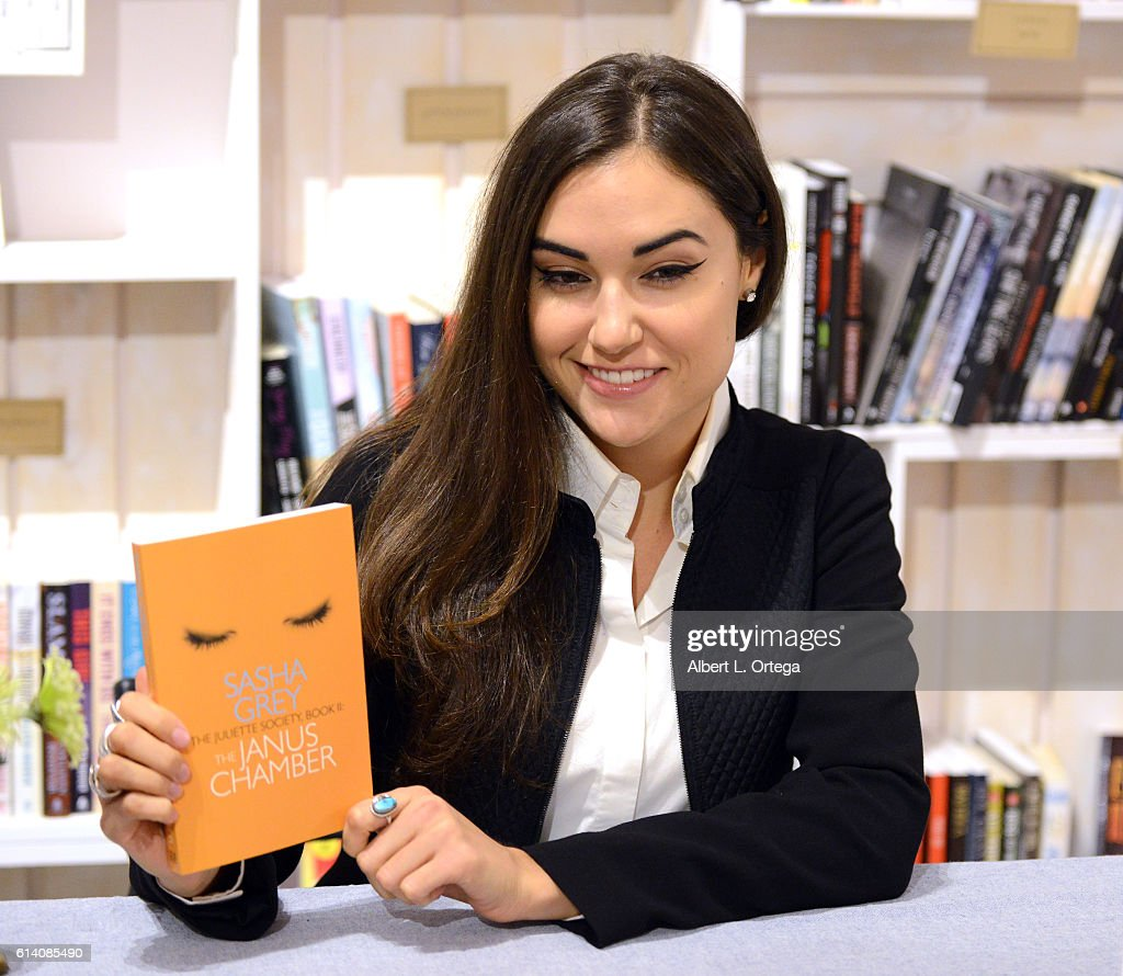"Sasha Grey Signs Copies Of Her New Book ""The Janus Chamber"" : News Photo"