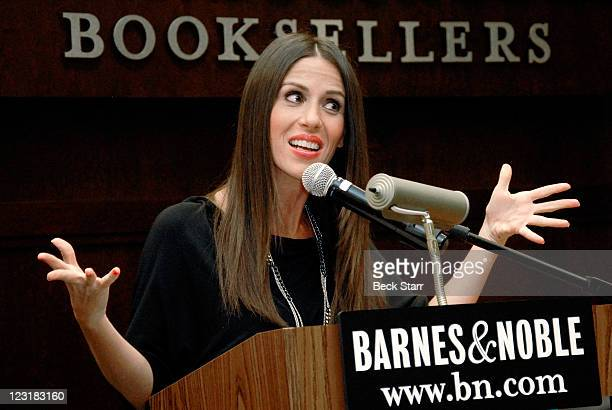 """Actress/author Soleil Moon Frye signs copies of her new book """"Happy Chaos: From Punky To Parenting And My Perfectly Imperfect Adventures In Between""""..."""