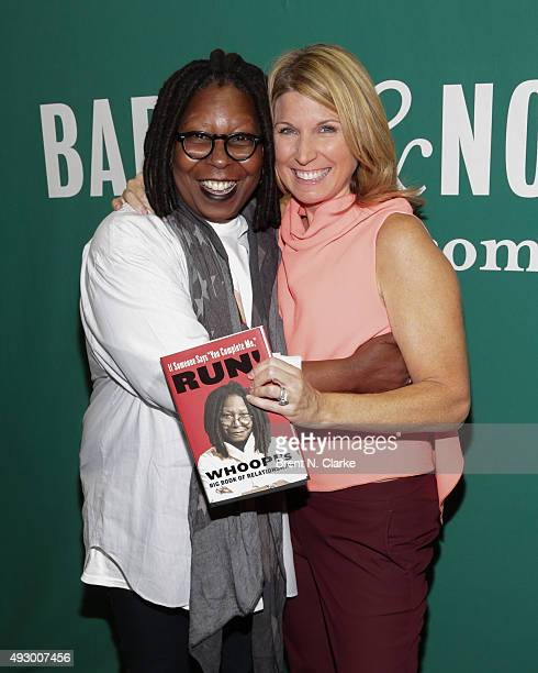 Actress/author Whoopi Goldberg and moderator Nicolle Wallace attend If Someone Says You Complete Me RUN Whoopi's Big Book of Relationships book...