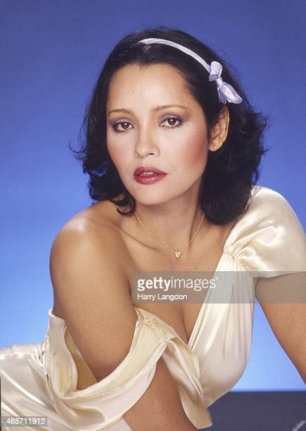 ActressBarbara Carrera poses for a portrait in 1981 in Los Angeles California