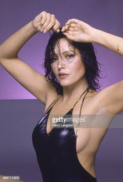 Actress-Barbara Carrera poses for a portrait in 1981 in Los Angeles, California.