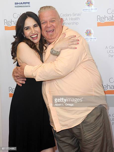 Actress/blogger Vida Ghaffari and actor Johnny Whitaker arrive for the Artists For Trauma's Rebranding Disability held at California Rehabilitation...