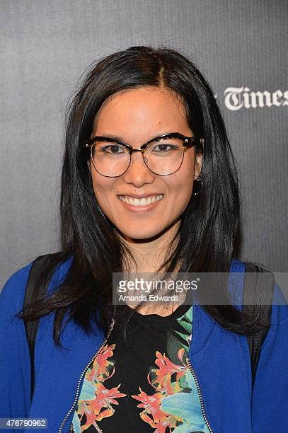Actress/comedian Ali Wong attends the Funny or Die Make'em LAFF and unofficial after party during the 2015 Los Angeles Film Festival at Festival...