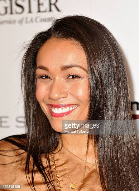 Actress/comedian Alia Kruz attends the Matt Leinart Foundation's 8th Annual Celebrity Bowl at Lucky Strike Bowling Alley on July 17 2014 in Hollywood...
