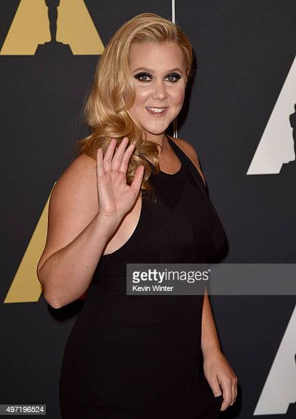 Actress/comedian Amy Schumer attends the Academy of Motion Picture Arts and Sciences' 7th annual Governors Awards at The Ray Dolby Ballroom at...