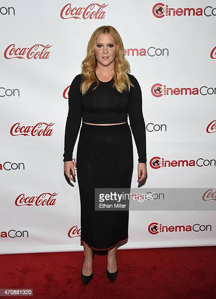 Actress/comedian Amy Schumer recipient of the Breakthrough Performer of the Year Award attends The CinemaCon Big Screen Achievement Awards Brought to...