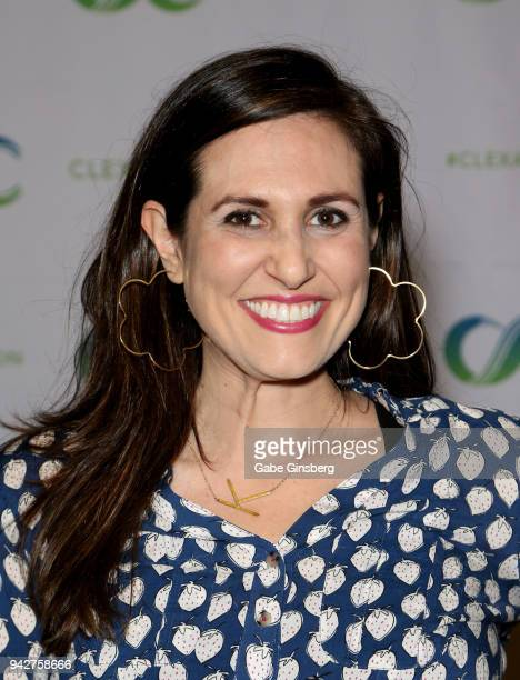 Actress/comedian Bridget McManus attends the ClexaCon 2018 convention at the Tropicana Las Vegas on April 6 2018 in Las Vegas Nevada