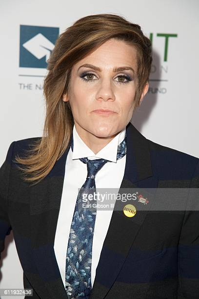 Actress/comedian Cameron Esposito attends the 2016 Point Honors Los Angeles Gala at The Beverly Hilton Hotel on October 1 2016 in Beverly Hills...