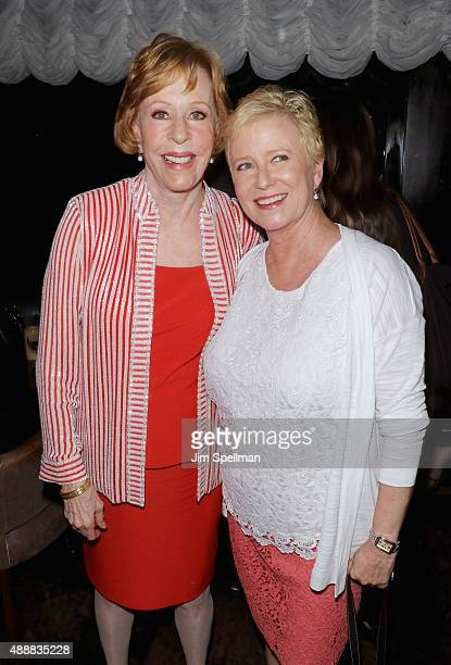 Actress/comedian Carol Burnett and actress Eve Plumb attend the after party for The Carol Burnett Show The Lost Episodes screening hosted by Time...