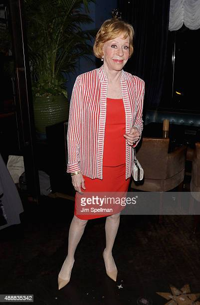 """Actress/comedian Carol Burnett attends the after party for """"The Carol Burnett Show: The Lost Episodes"""" screening hosted by Time Life and The Cinema..."""
