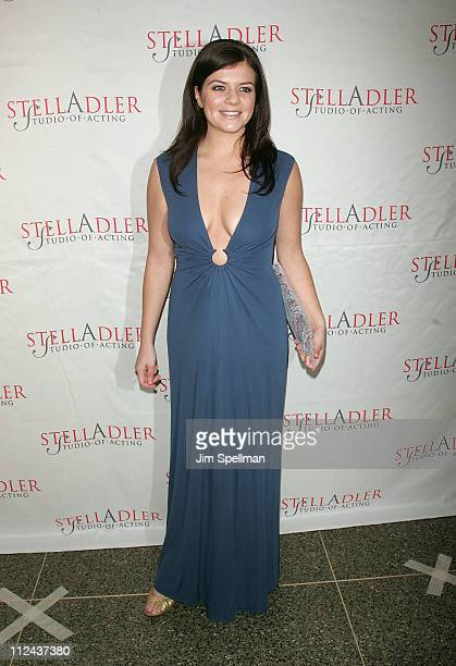 Actress/Comedian Casey Wilson arrives at the 4th Annual Stella by Starlight Gala Benefit Honoring Martin Sheen at Chipriani 23rd st on March 17 2008...