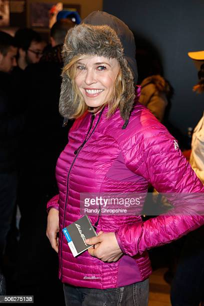 Actress/comedian Chelsea Handler attends the Eddie Bauer Adventure House during the 2016 Sundance Film Festival at Village at The Lift on January 22...