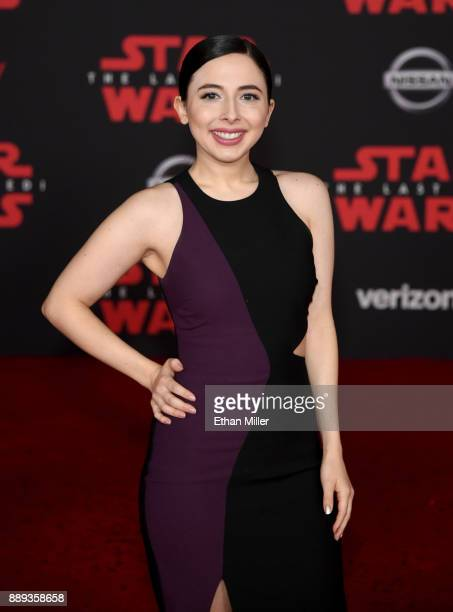 Actress/comedian Esther Povitsky attends the premiere of Disney Pictures and Lucasfilm's 'Star Wars The Last Jedi' at The Shrine Auditorium on...
