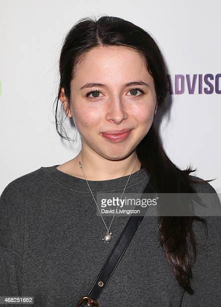 Actress/comedian Esther Povitsky attends the premiere of Paramount and Hulu's 'Resident Advisors' at the Sherry Lansing Theatre at Paramount Studios...