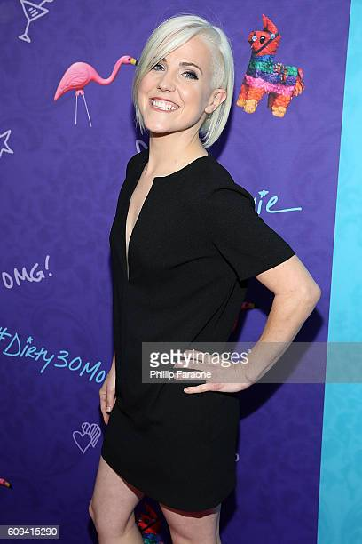 Actress/comedian Hannah Hart attends the premiere of Lionsgate's 'Dirty 30' at ArcLight Hollywood on September 20 2016 in Hollywood California