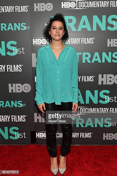 Actress/comedian Ilana Glazer attends HBO Documentary Film 'THE TRANS LIST' NY Premiere at Paley Center For Media on November 17 2016 in New York City