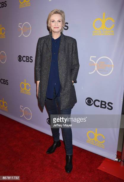 Actresscomedian Jane Lynch attends the CBS' 'The Carol Burnett Show 50th Anniversary Special' at CBS Televison City on October 4 2017 in Los Angeles...